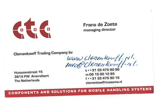 Font Bussniscard