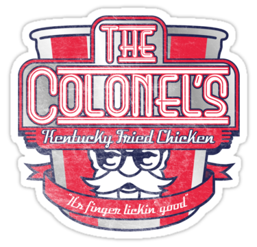 THE COLONEL'S........ FONT????