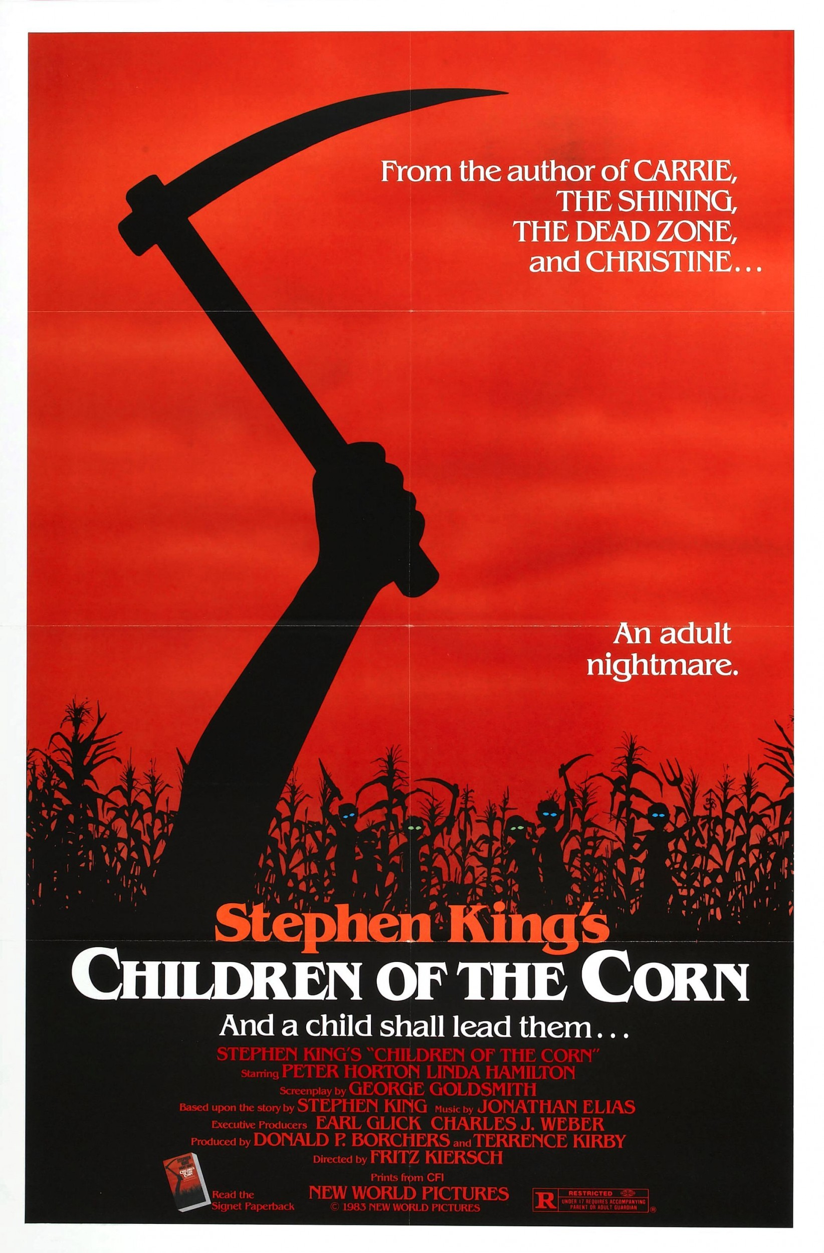 Children of the Corn Poster FONT