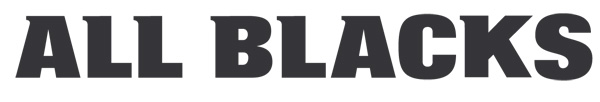 All Blacks Rugby Font