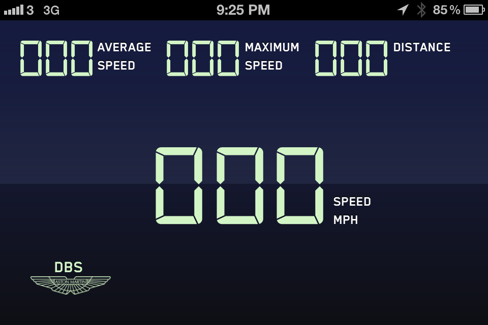 "What is the name of the font showing: ""AVERAGE SPEED""?"