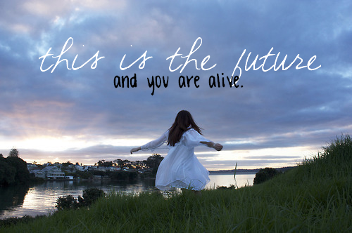 "the ""this is the future"" font?"