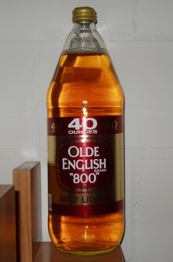 Olde English 40 Oz font