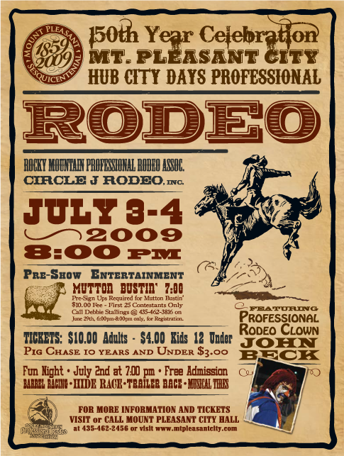 Rodeo Font?