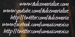 DULCE MARIA! Help Font! PLEASE...