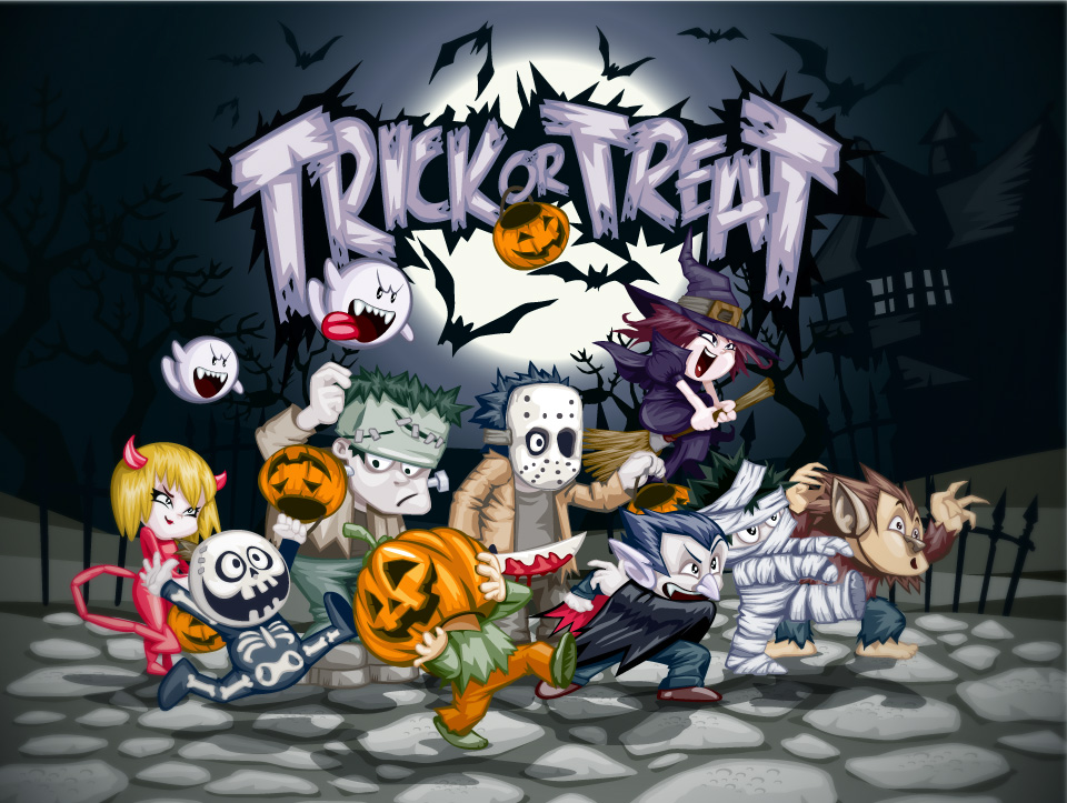 TRICK OR TREAT FONT?