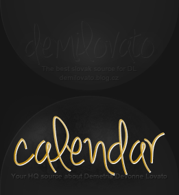 Font from Demi Lovato Fansite