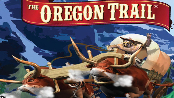Oregon Trail font