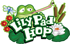 what is the font of Lily Pad Hop?