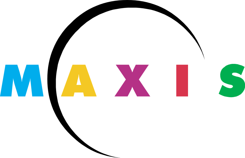 Maxis Logo Font (previous version)