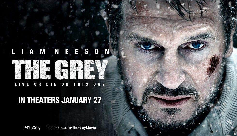 """The Grey"" and ""Liam Neeson"" Font"