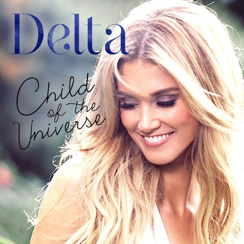 font for DELTA GOODREM