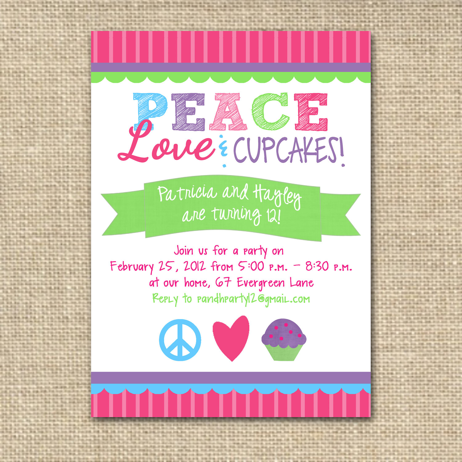 "Help please! What font is ""Peace""?"