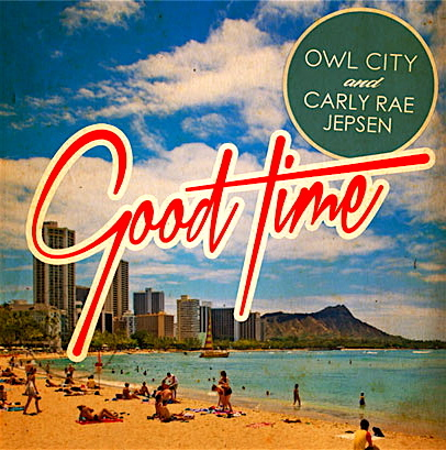 Good Time Album Cover Font