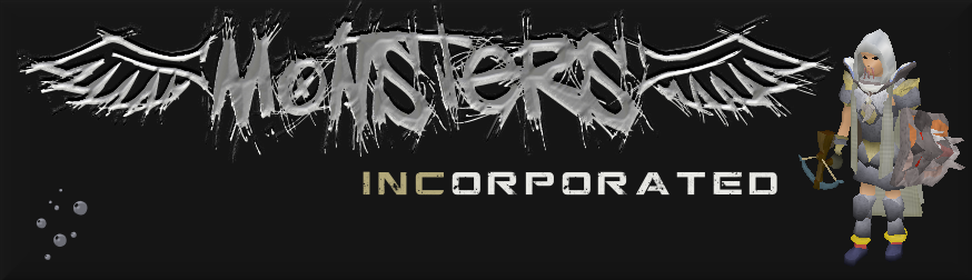 "What font is the ""Monters Inc"" text."