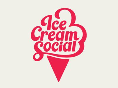 Ice cream font