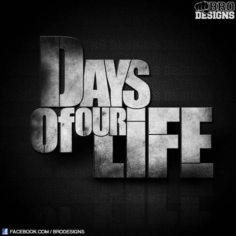 Days Of Our Life Logo Font??