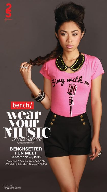 "What font? ""Wear Your Music"""