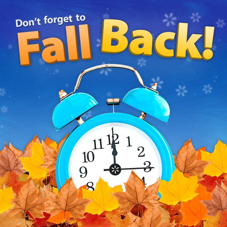 Fall back time what font please