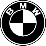 what is the font for the bmw logo