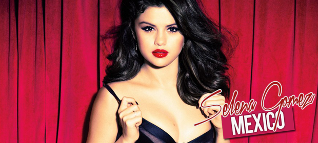 "What is the fontype used on ""Selena Gomez"""