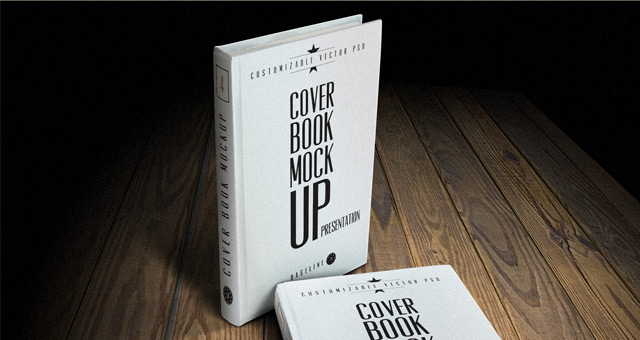 COVER BOOK MOCK UP