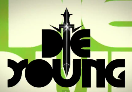 Font in Ke$ha's Die Young lyric video?
