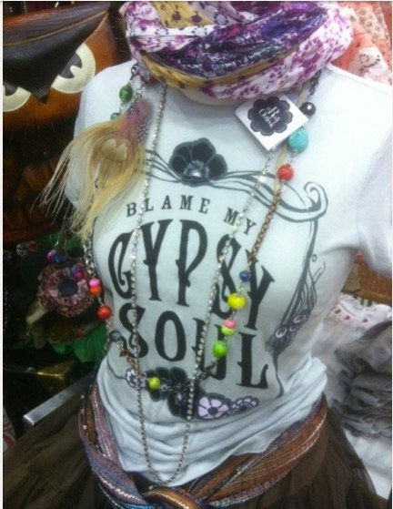 "What is the font of ""Gypsy Soul""?"