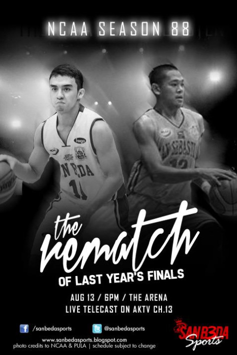 "does anyone here know what font ""The Rematch"" is?"
