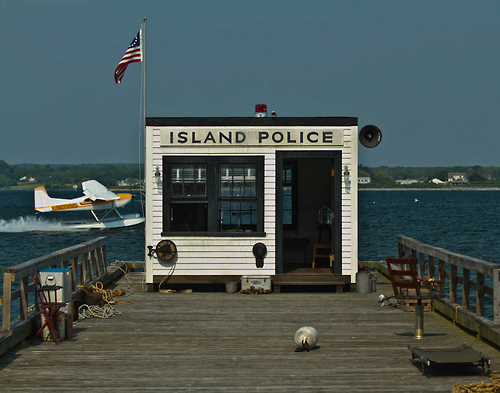 Font Request: Moonrise Kingdom, the Police station and Cop car.