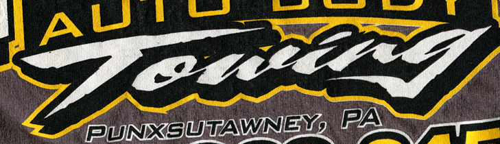 "Help! Need ""Towing"" font!"