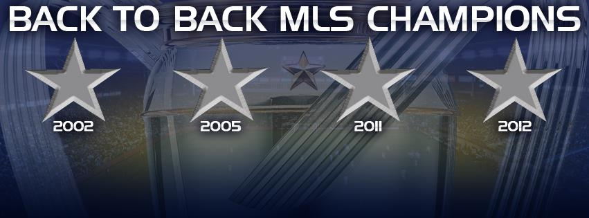 Back To Back MLS Champions. Font?