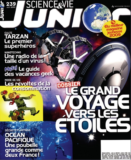 Font: Le grand  voyage: Magazine Science & vie Junior. Merci d'avance.