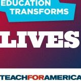 Teach for America advertising font