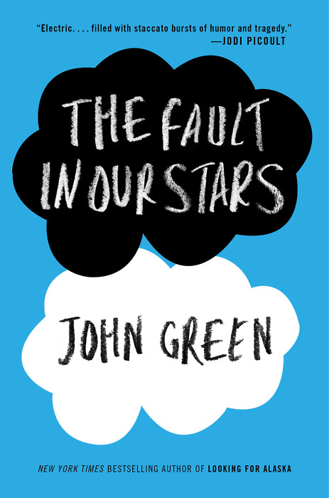 The Fault in Our Stars cover font