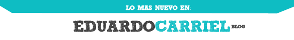 What is the font? ¡HELP ME! EDUARDO CARRIEL BLOG