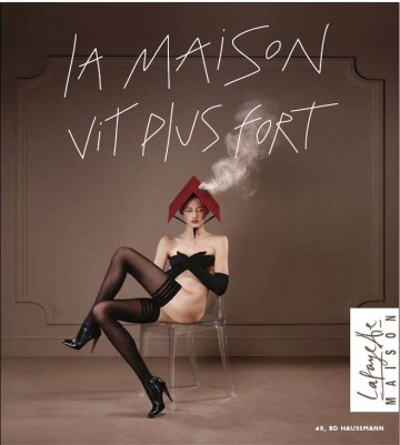 """La Maison Vit Plus Fort"" font, pleaaase ?!"
