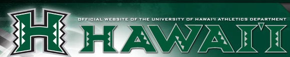 University of Hawaii athletics font