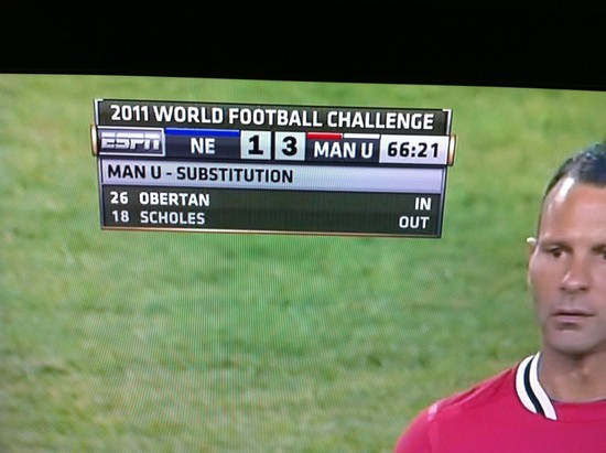 2011 World Football Challenge?