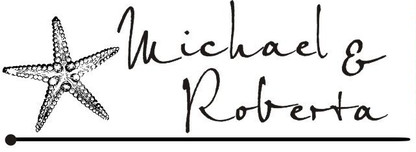"Font for ""Michael & Roberta"""