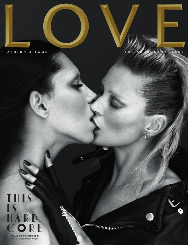Font on LOVE Magazine