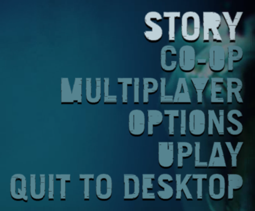 Far Cry 3 Ingame Font
