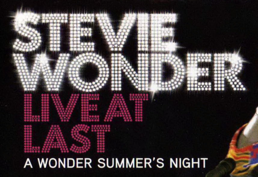 What is this Font??? Stevie Wonder Live At Last DVD