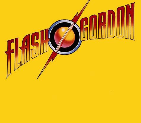 Police de l'abum de Queen: flash Gordon