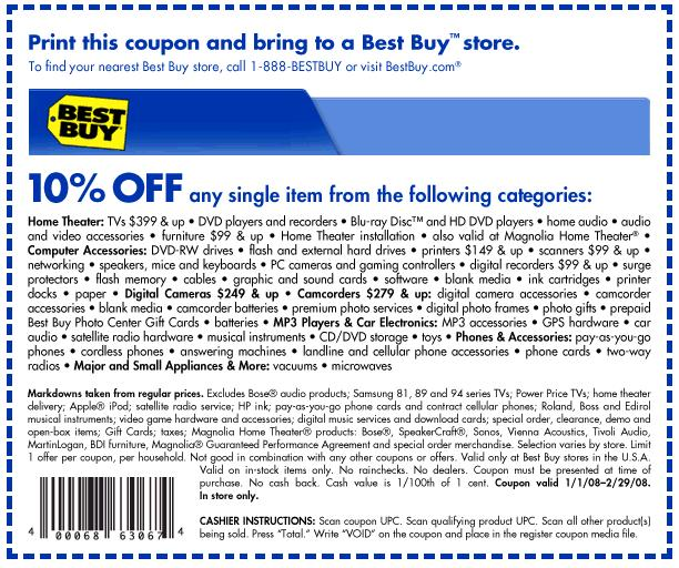 Best Buy coupon codes for October 28, 12222