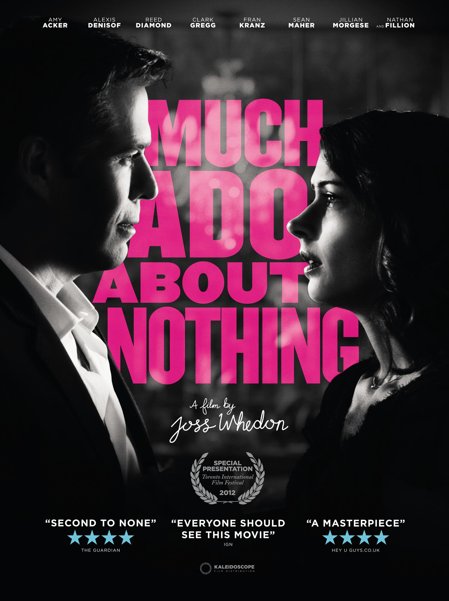 Much Ado About Nothing font