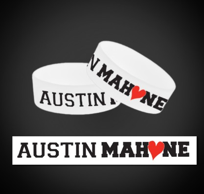 font for austin mahone text