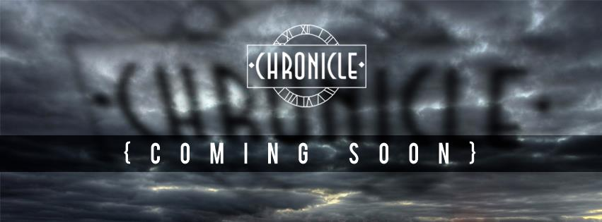 'CHRONICLE' font please:)