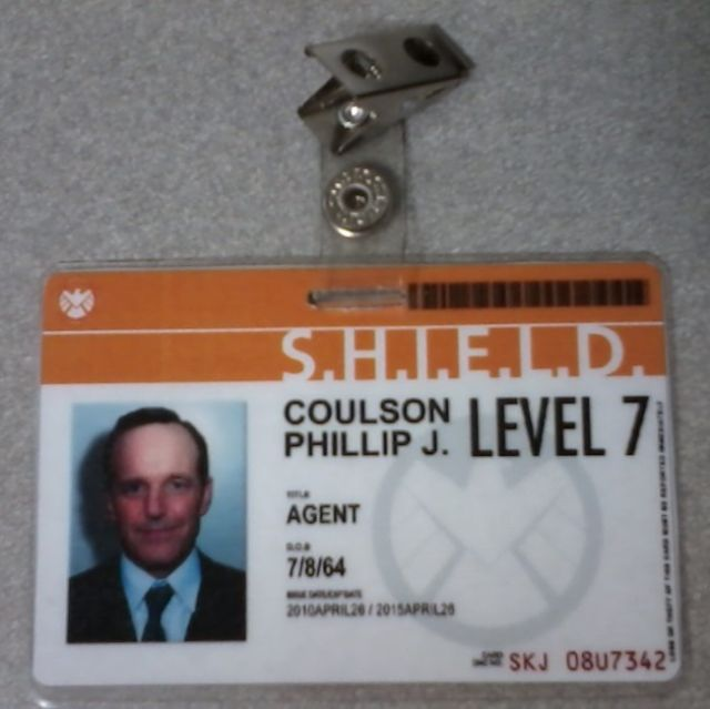 SHIELD ID Badge Fonts