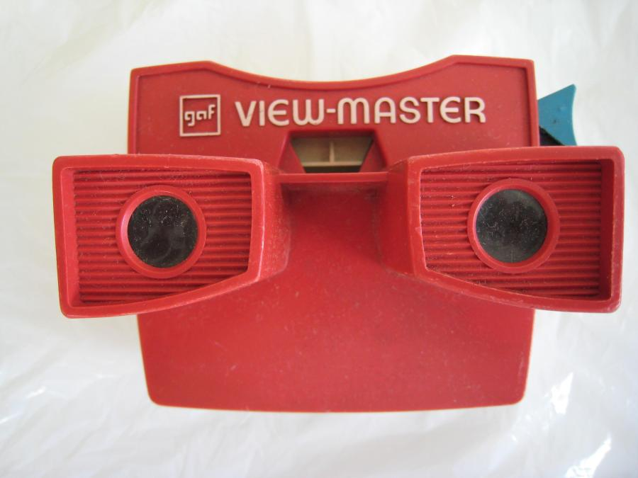 gaf View-Master Font Used